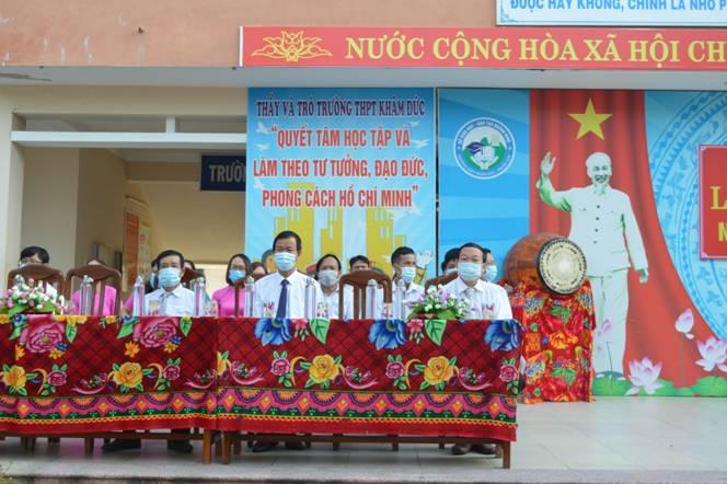 Trường THPT Khâm Đức- Quảng Nam tổ chức Lễ khai giảng năm học 2020-2021