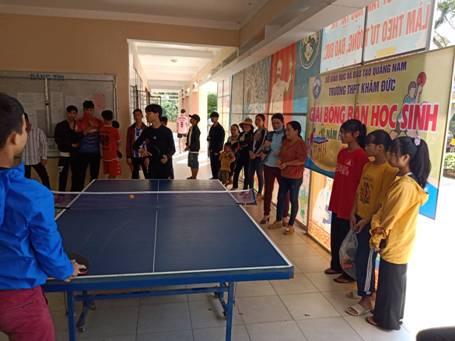 Giải Bóng bàn Học sinh chào mừng ngày Nhà Giáo Việt Nam 20-11